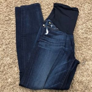 Seven for all man kind maternity jeans
